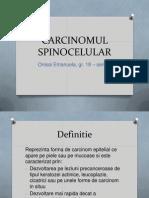 CARCINOMUL SPINOCELULAR