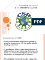 BE PPT Banks , csr in banks