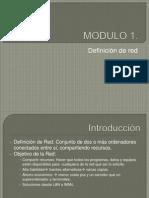 MODULO Definición de Red