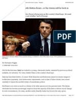 Italy Has One Last Chance With Matteo Renzi - Or the Clowns Will Be Back in Charge - Telegraph