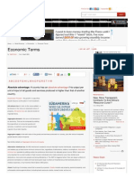 Www Economywatch Com Indianeconomy Glossary-Of-economic-terms