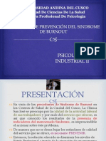 Programa Prevencion Burnout