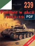 (Wydawnictwo Militaria No.239) Panther w Akcji 1943-1945
