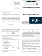 Practical Accounting 1 Mockboard 2014