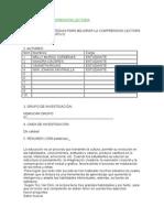 Proyecto de Comprensión Lectora0012122
