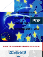 Curs 3 - Instrumentele Structurale Ale UE 2014-2020 (1)