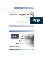 SAP Business Configuration Sets (BCSETS) Overview