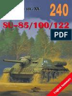 (Wydawnictwo Militaria No.240) SU-85/100/122