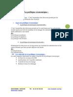 Politique Économique Et Monétaire 2 Bac Science Economie Et Techniques de Gestion Et Comptabilité