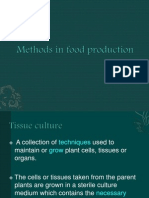 Methods in Food Production