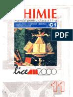 159134543 Fatu Sanda Chimie Manual Pentru Clasa XI C1