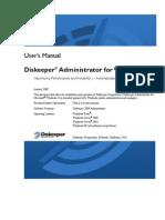 Dis Keeper 2009 Administrator User Manual