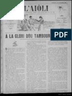 L'Aiòli. - Annado 02, n°70 (7 de Desèmbre 1892)