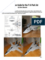 F-14 Park Jet Construction Guide