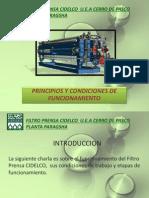 Capacitacion Filtro Prensa Cidelco