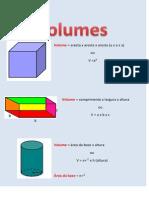 Cartaz Volumes
