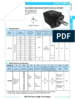 EIC B 1005 0 HPV Single Vane Pump
