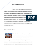 Wie Hat Deutschland Von Der WM 2006 Profitiert