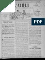 L'Aiòli. - Annado 02, n°72 (27 de Desèmbre 1892)