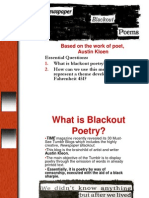 blackout poetry 2014