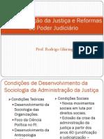 Administracao Da Justica e Reformas Do PJ