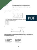 Sains Tingkatan 4 Kertas 1