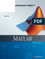 Pdetoolboox MATLAB Guide Book