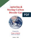 Capturing & Storing Carbon Dioxide Gas