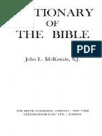 Dictionary of the BibleA-D McKenzie