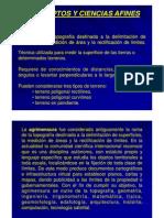 CONCEPTOS Y CIENCIAS AFINES AL CATASTRO, Educación Continua