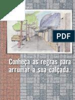 Cartilha Passeio Livre - Calçadas