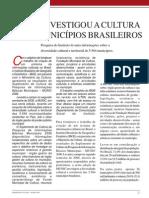 Pesquisa IBGE Cultura Brasil