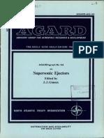 Agard Agardograph 163 - Supersonic Ejectors