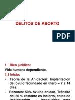 3. Delitos de Aborto
