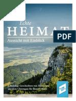 Chiemgau Echte Heimat
