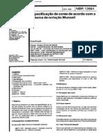 ABNT NBR 12694 - Especificacao de Cores de Acordo Com O Sistema de Notacao Munsell