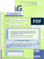Cuestionario de Autoconcepto