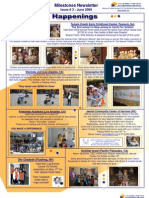 Beit Issie Shapiro Milestones Newsletter Issue #3 June 2009