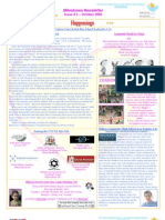 Milestones Newsletter Issue #5 October 2009