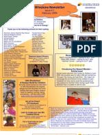 Milstones Newsletter February 2009 - American Freinds of Beit Issie Shapiro