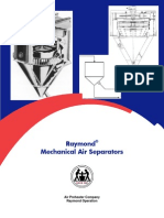 PB3603 -1 Raymond Mechanical Air Separator