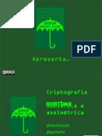 Criptografia Simetrica e Assimetrica