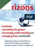 Horizons Jan - Mar 2014