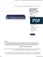 Router Balanceador Tp-link Tl-r470t+ 100mbps 2 3 Y 4 Wan - BsF 2