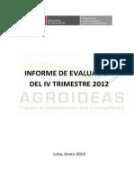 PLAN 13970 2012 - E) Informe de Seguimiento Al POI - IV Trimestre 2012 2013