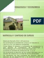Cuenta Pedagogica y Economica Año 2013