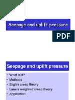 Seepage Theory