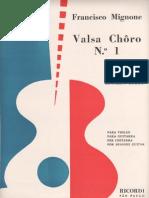 Francisco Mignone - Valsa Choro Nº 1