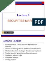 Securities Markets (Curtin)
