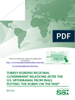 Turkey-Kurdish Regional Government Relations After the U.S. Withdrawal From Iraq